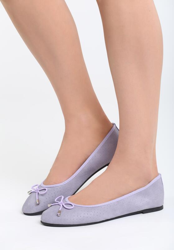 Фиолетовые Балетки