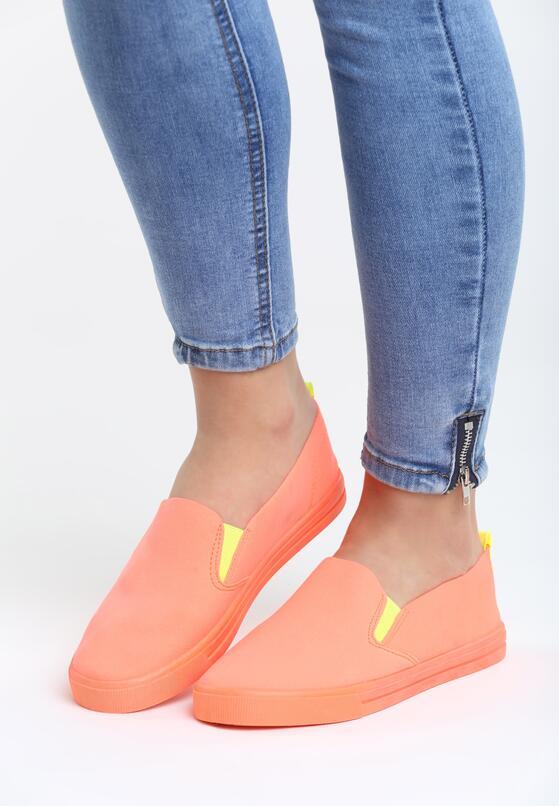 Оранжевые Слипоны