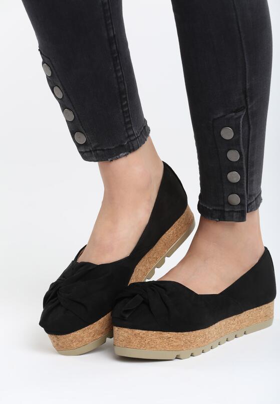 Черная Обувь на платформе