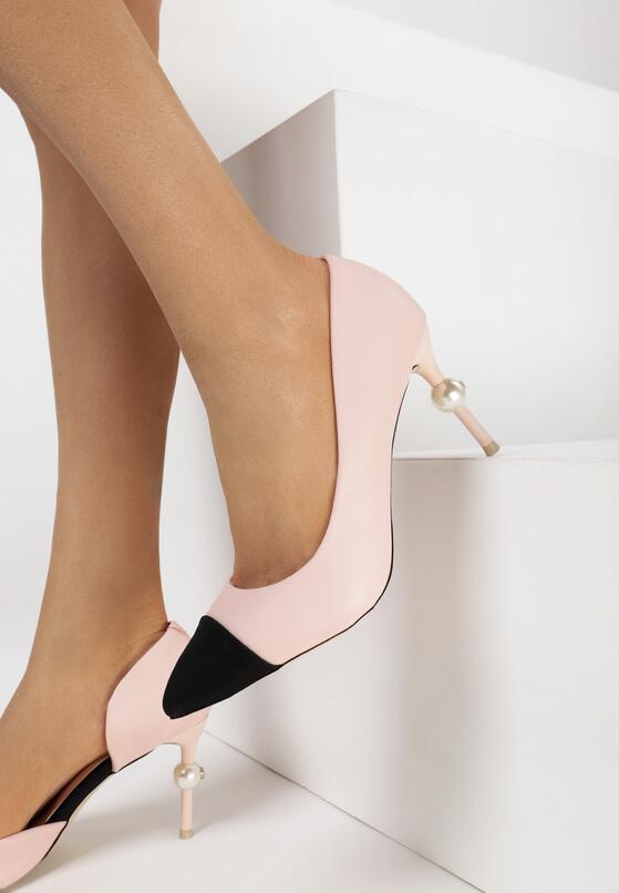 Розовые Туфли-лодочки