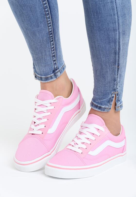 Розовые Спортивные мокасины