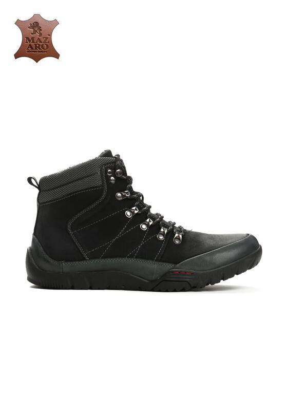 Черные Треккинговые Ботинки