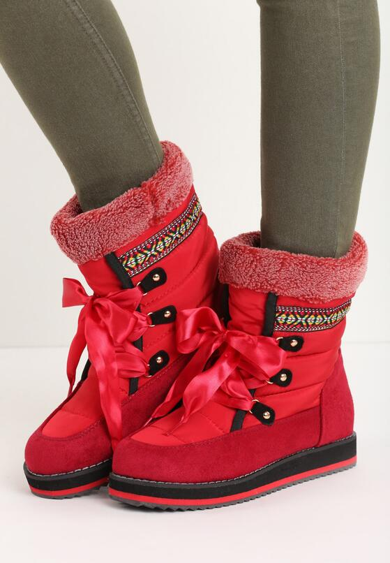 Красные Снегоходы