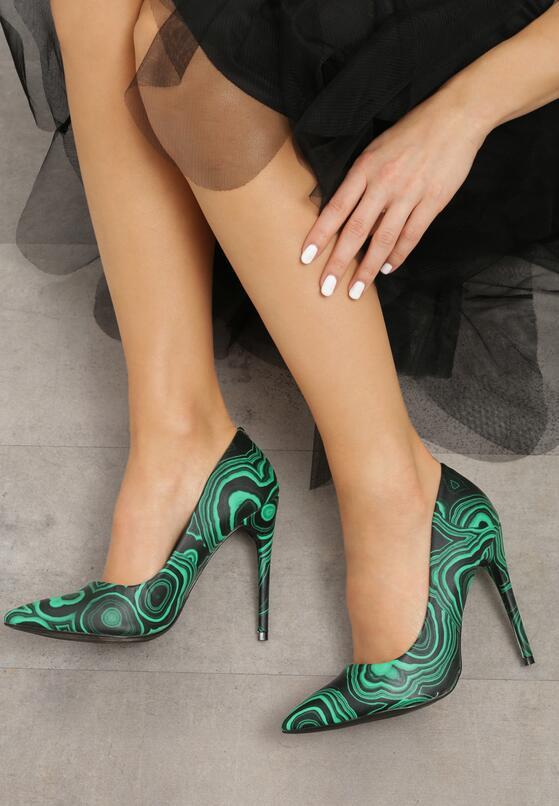 Зеленые Туфли-лодочки