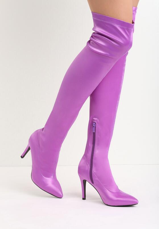 Фиолетовые Ботфорты
