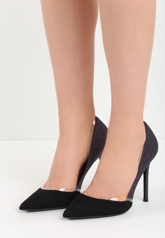 фиолетовые Туфли-лодочки