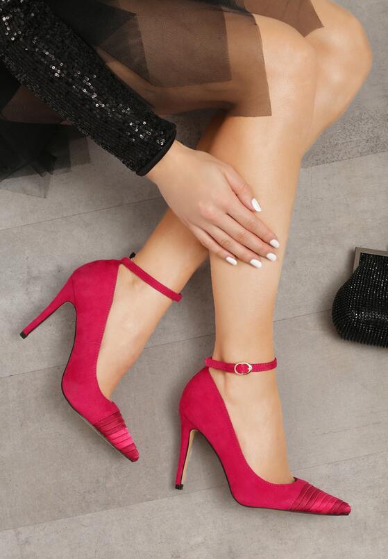 Фуксиновые Туфли-Лодочки