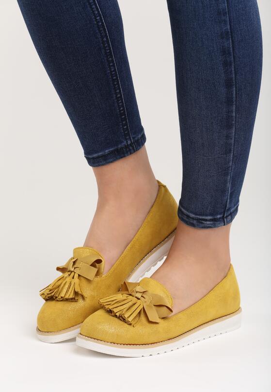 Желтые Лоферы