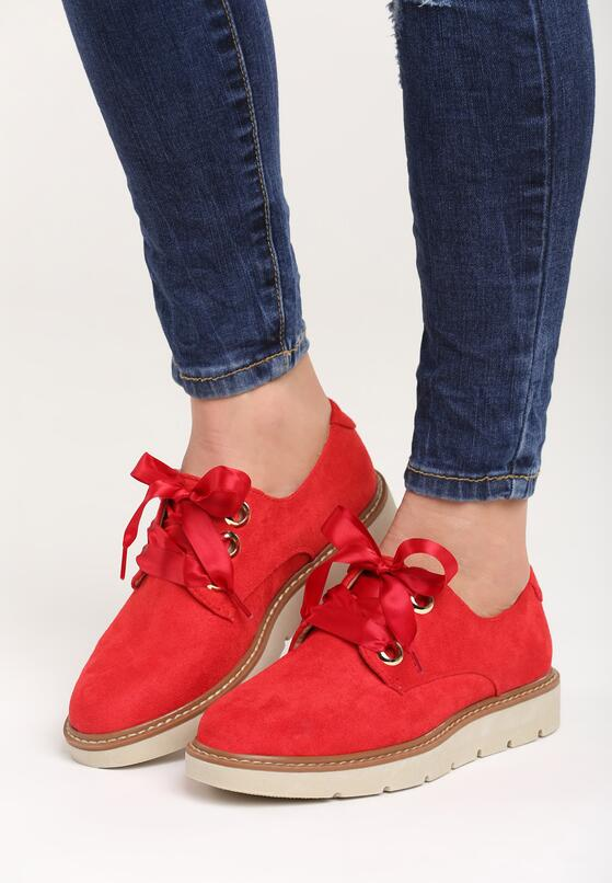 Красные Полуботинки