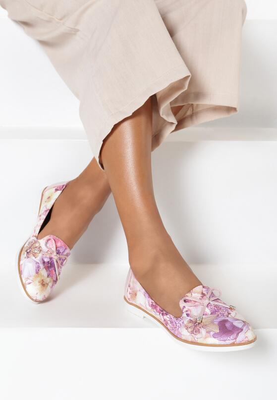Розовые Балетки