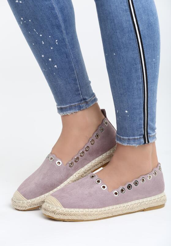 Фиолетовое Эспадрильи