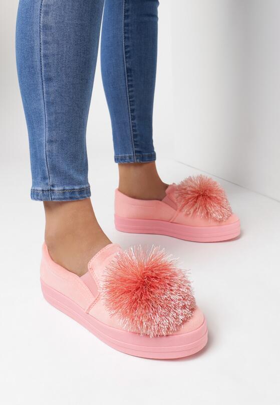 Розовые Слипоны