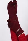 Бордовые Перчатки
