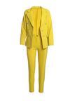 Жовтий Класичний Костюм