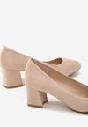 Бежевые Туфли