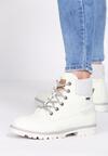 Бежевые Ботинки