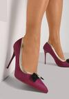 фиолетовые Туфли