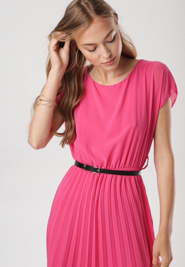 Фуксиновое Платье