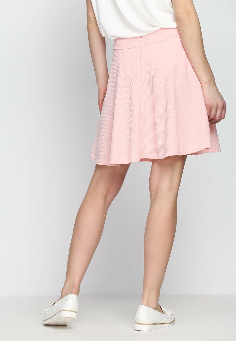 Рожева Міні-спідниця