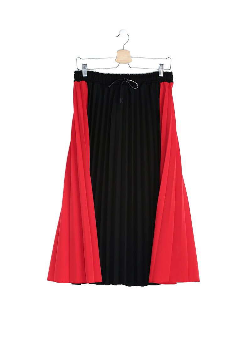 Червона Міді-Спідниця