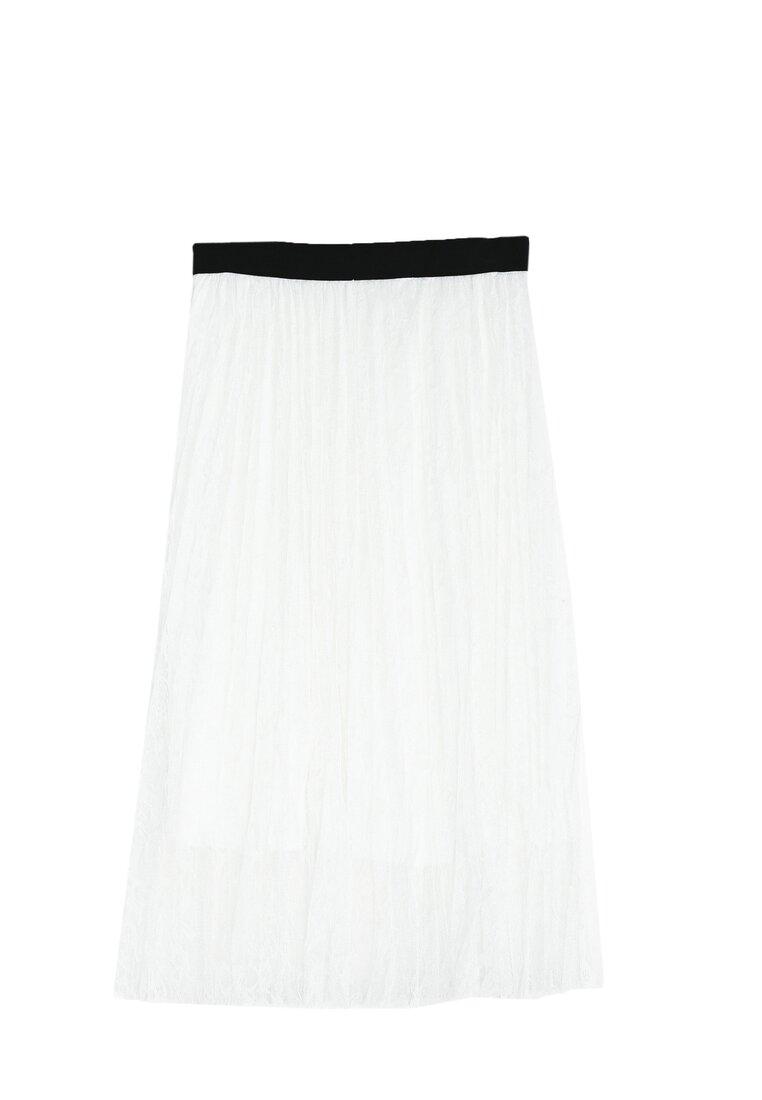 Біла Міді-Спідниця