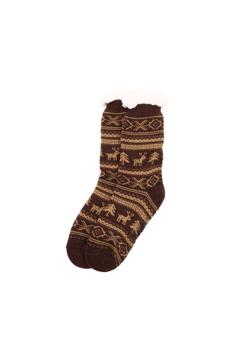 Коричневі Шкарпетки