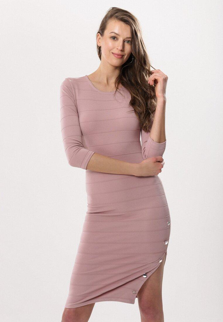 ecef087b53930d2 Розовое Платье в Born2be.com.ua