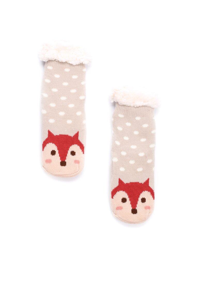 Бежеві Шкарпетки