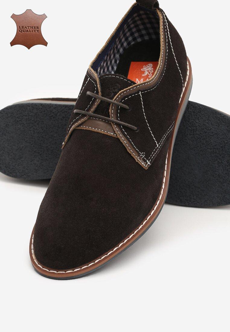 Коричневі Шкіряні Туфлі