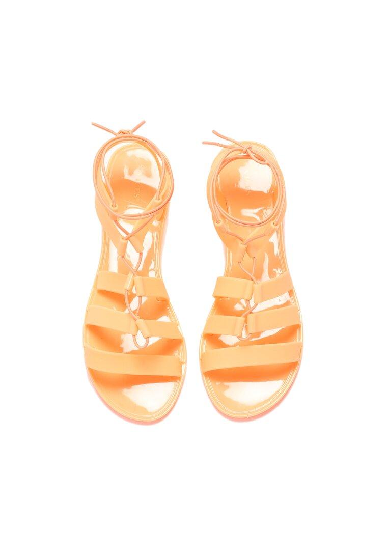 Оранжеві Сандалі