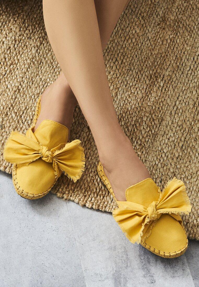 Желтые Кожаные Мюли
